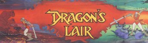 Dragons Lair Marquee