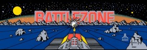 battlezone marquee dedicated 19.2x6.6